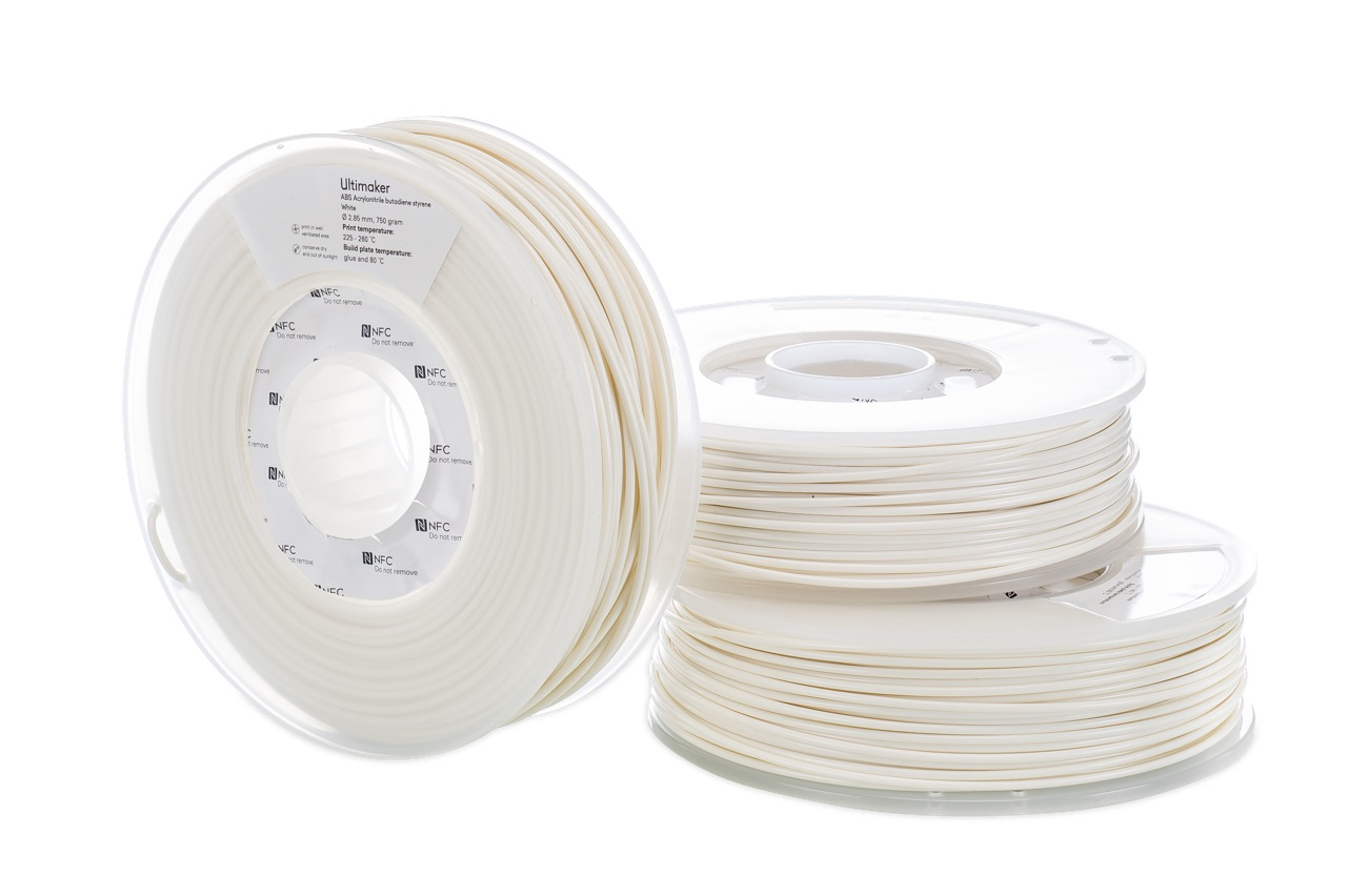 Ultimaker ABS White 750g Spool