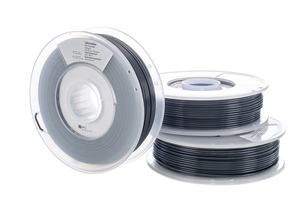 Ultimaker CPE Dark Gray 750g Spool