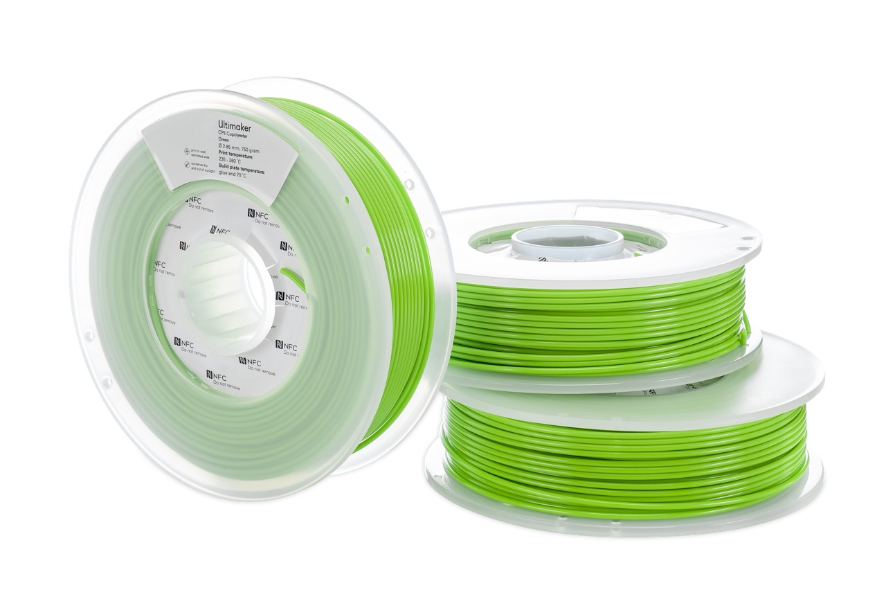Ultimaker CPE Green 750g Spool