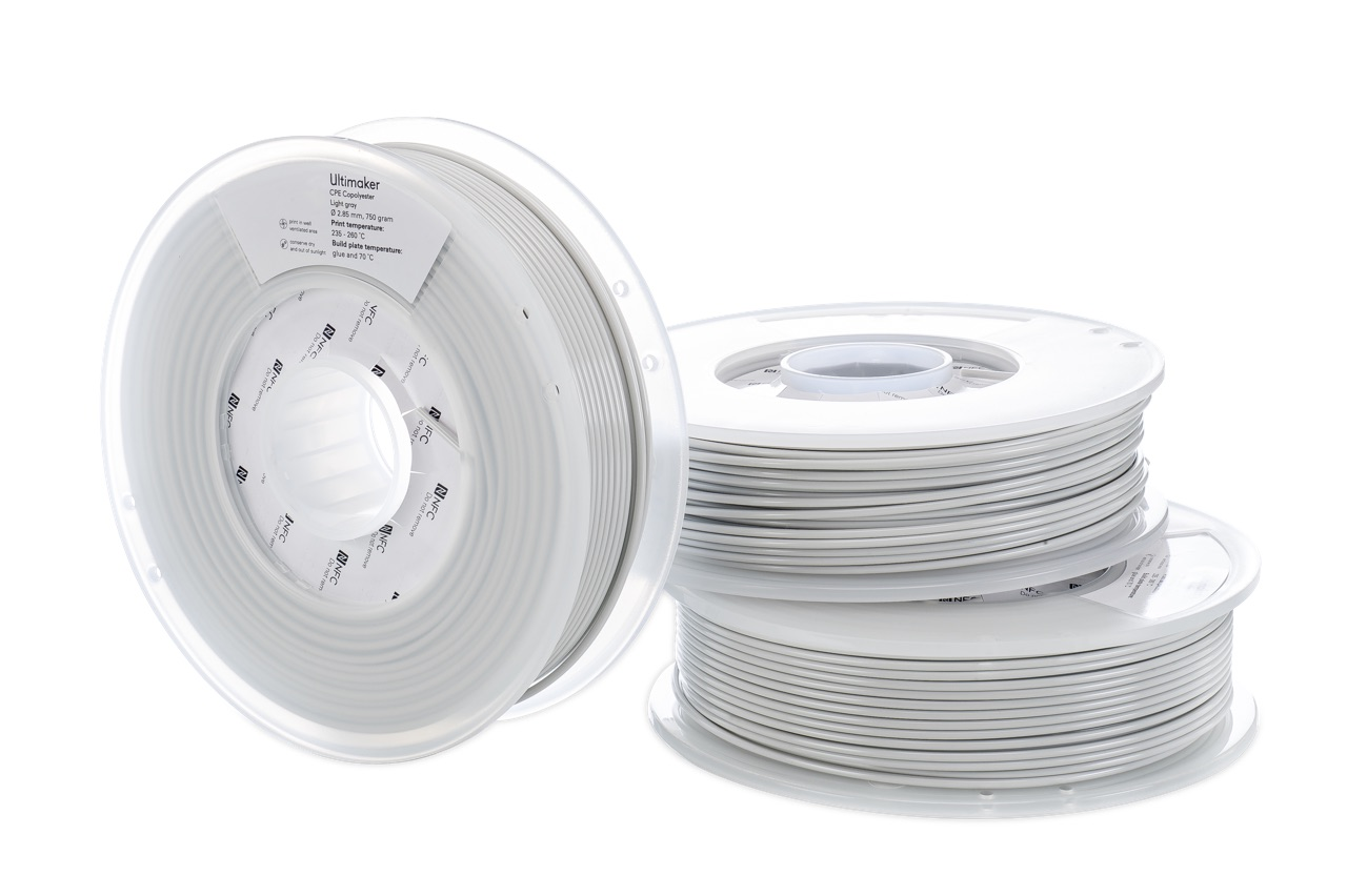 Ultimaker CPE Light Gray 750g Spool