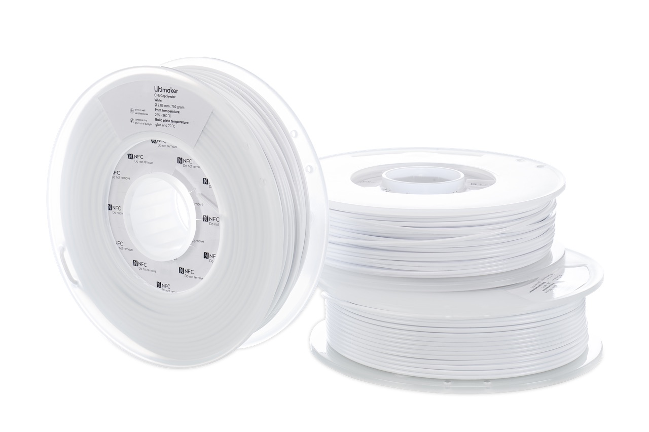 Ultimaker CPE White 750g Spool - UM-1632