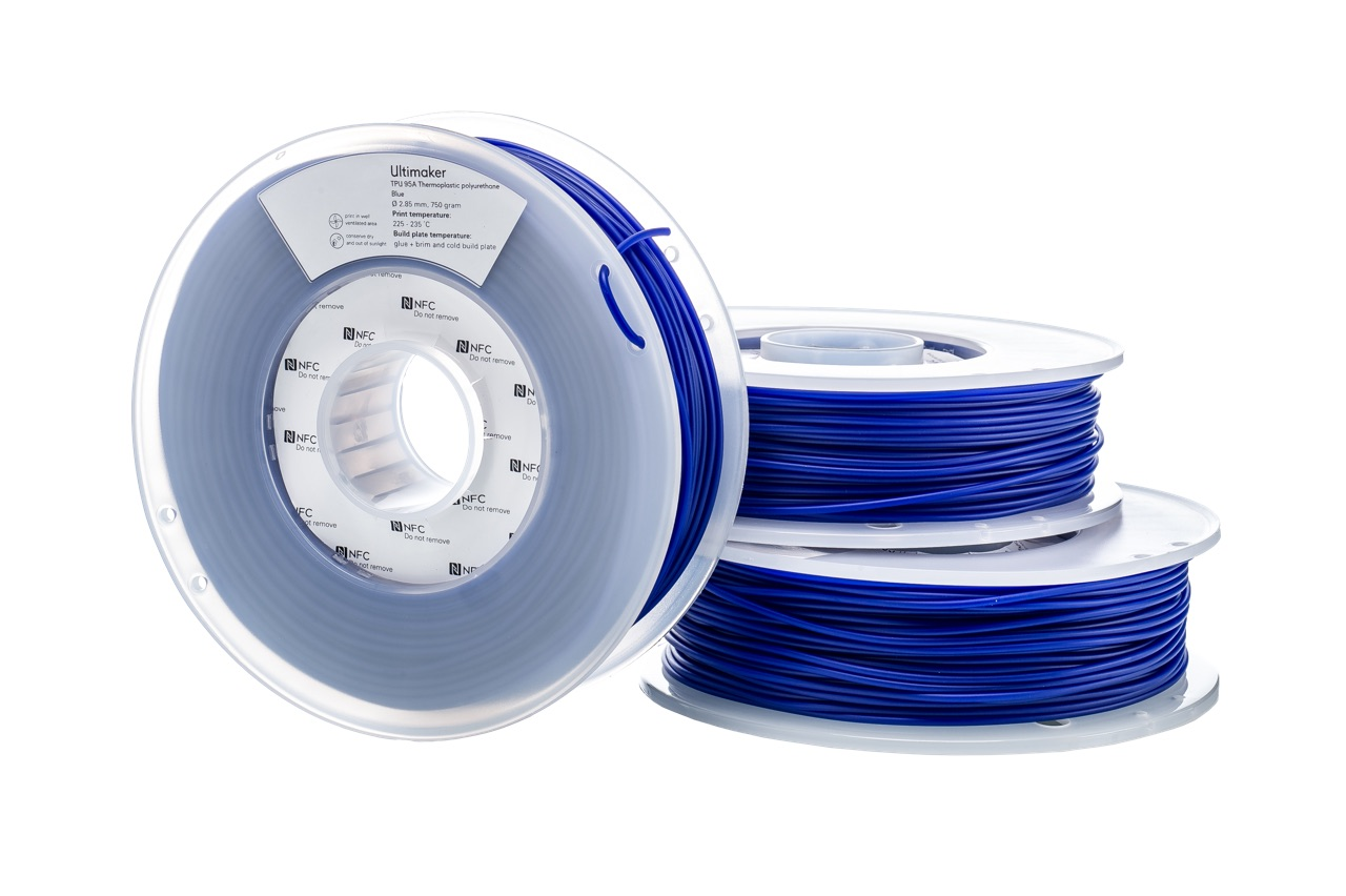 Ultimaker TPU Blue 750g Spool