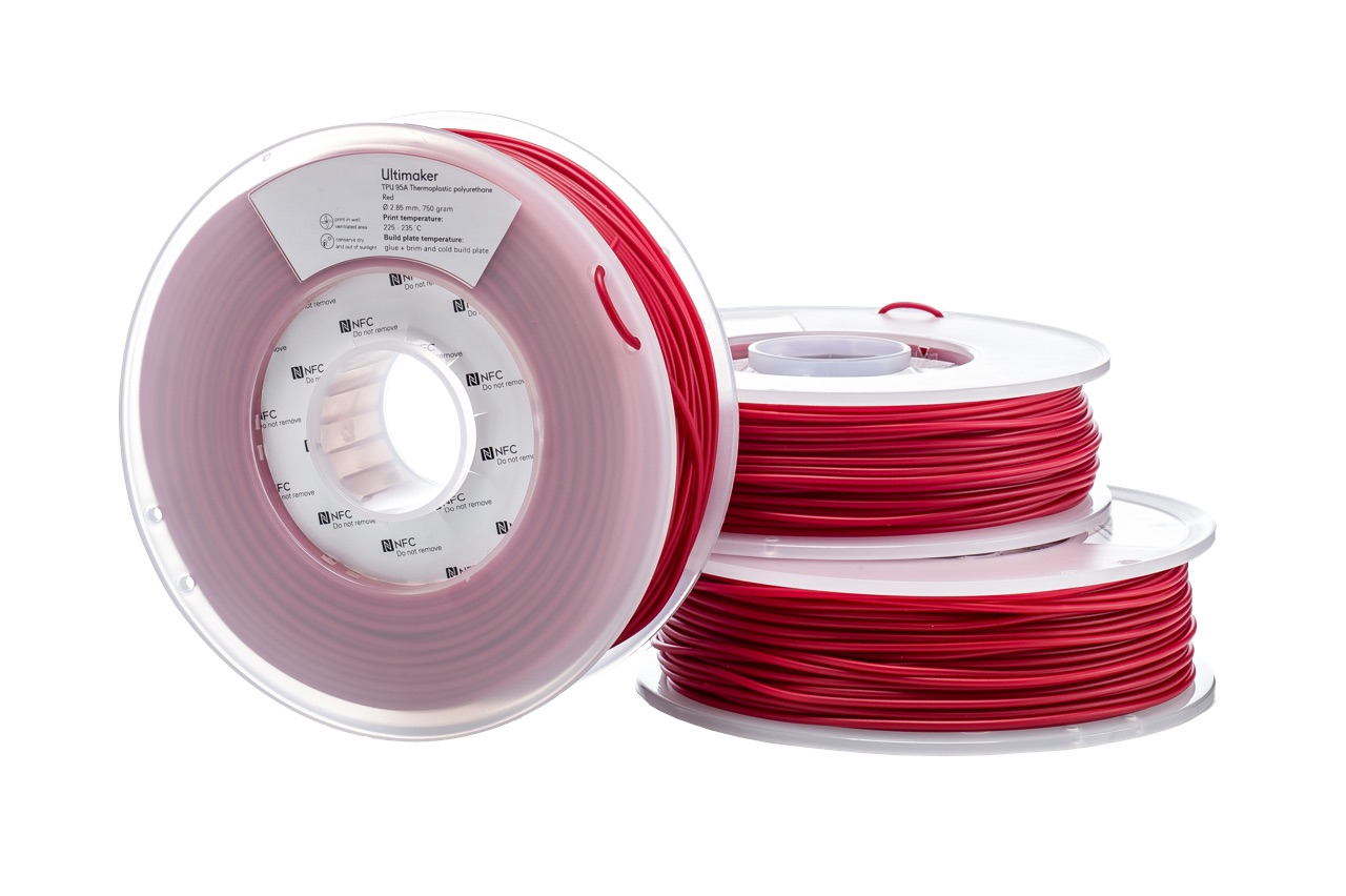 Ultimaker TPU Red 750g Spool