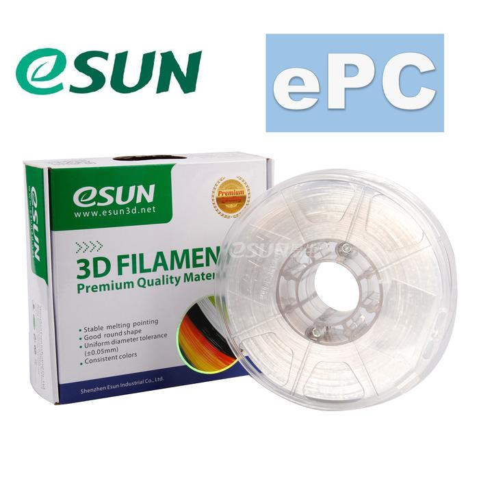 ePC Polycarbonate filament, 2.85mm (3.0mm Compatible), 500g/spool