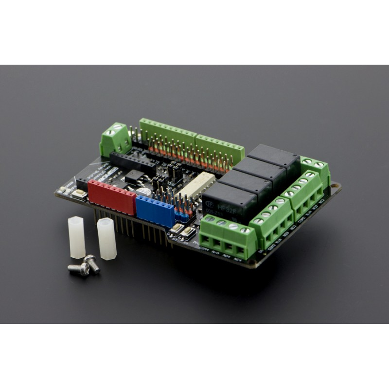 4 Channel Relay Shield for Arduino