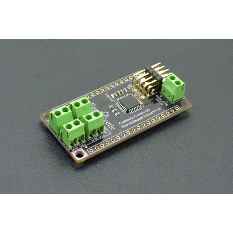 FireBeetle Covers - DC Motor &; Stepper Driver