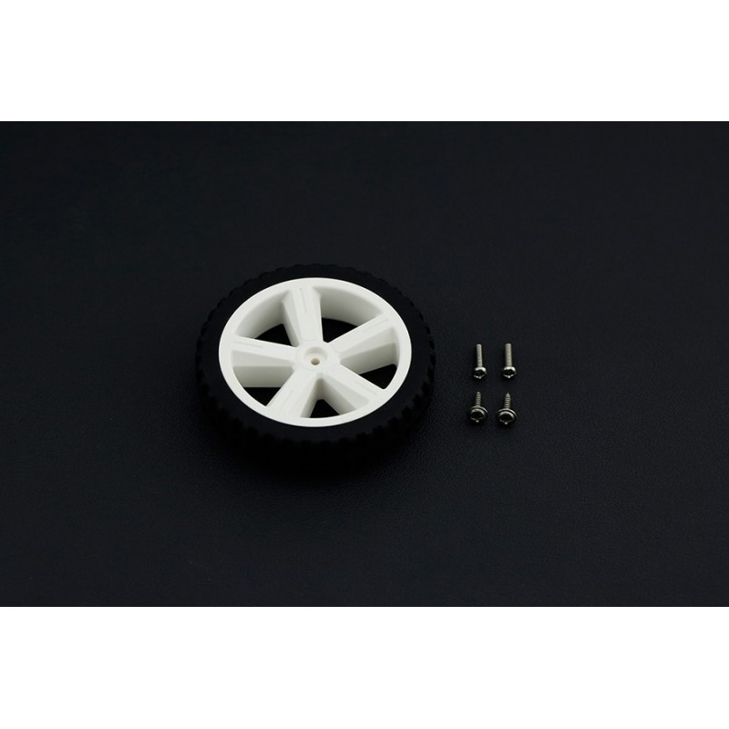 D80mm Silicone Wheel For TT Motor