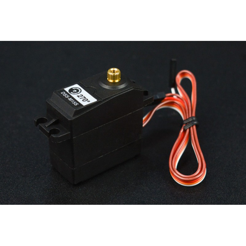 DSS-M15S 270? 15KG DF Metal Servo with Analog Feedback