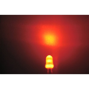 5mm Orange LED - 10Pcs