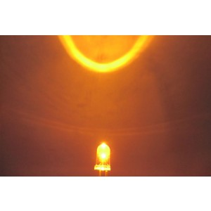 5mm Super Bright LED - Yellow(10Pcs)