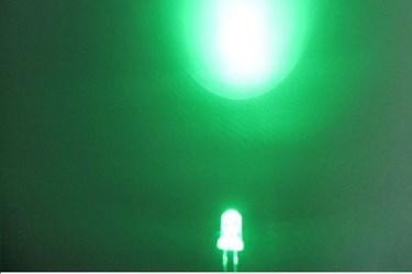 5mm Super Bright LED - Green(10Pcs)