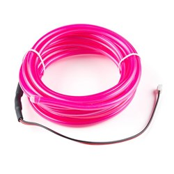 Bendable EL Wire - Pink 3m