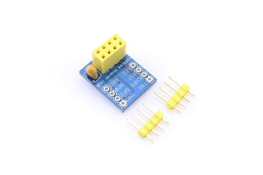 Breadboard adapter for ESP8266 Serial-to-WiFi transceiver