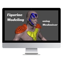 Figurine Creation with 3D Modelling