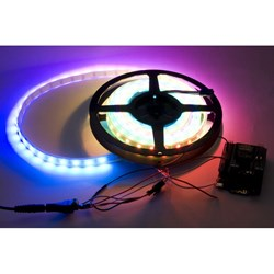Bluetooth 4.0 RGB LED Strip Kit (Support iPhone &; Android)